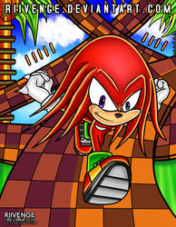 Knuckles the Echidna by x-Riivenge