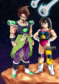 Commission - Saiyan Duo