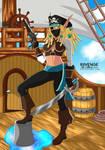 Nami the Pirate - Warcraft OC by x-Riivenge