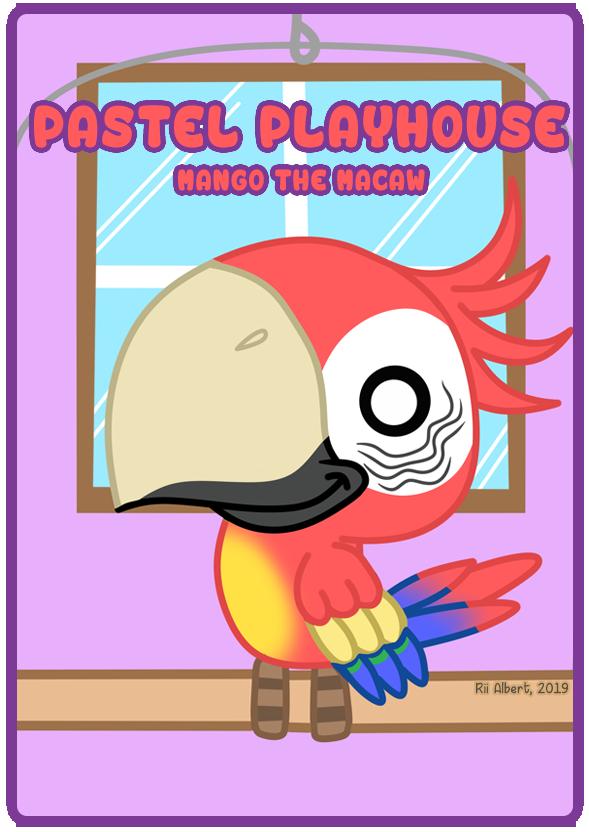 Playhouse Pal #5 - Mango the Macaw by x-Riivenge