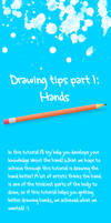 Drawing tips part 1: Hands by iitchyy