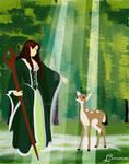 Lamiroire the Elf Queen