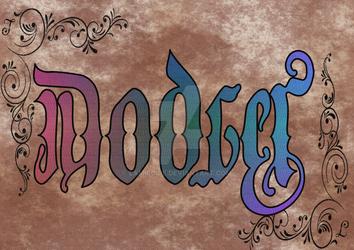 Dodger Ambigram