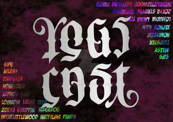 Yogscast Ambigram: Competition Entry