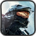 Halo 4 - 128x128 Icon 2/2 by Marxhog