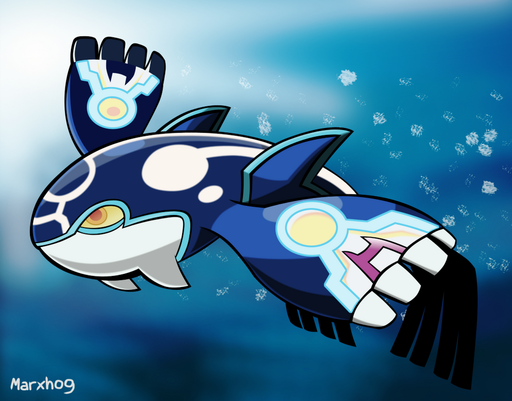 Alpha Kyogre by Marxhog on DeviantArt