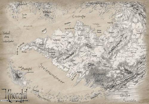 Khorghil Map