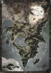 KHORGHIL FANTASY MAP
