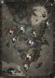 KHORGHIL POLITICAL MAP
