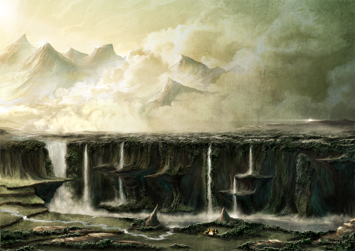 The Lake of Tears by Khorghil
