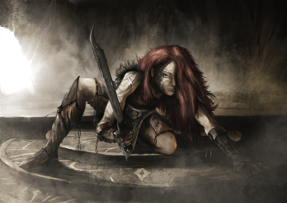 Bloodhair by Khorghil