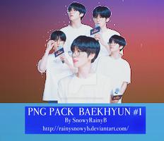 PNG PACK #1 BAEKHYUN( EXO)