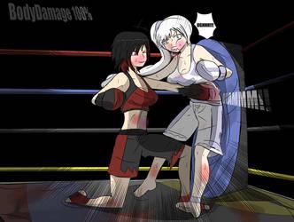 PC: Ruby vs Weiss by Kenjisama