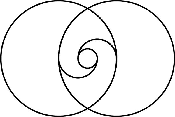 ancient taijitu  yin yang  in vesica piscis by maasiai on