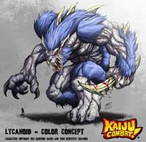 Lycanoid by SimonStrange