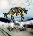 Bumblebee by woxy
