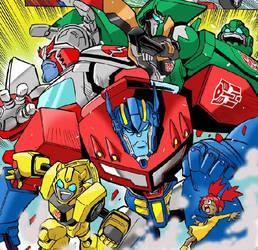 Transformers Animated anime