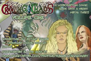 Crawling Chaos, Volume One: Kickstarter LIVE!