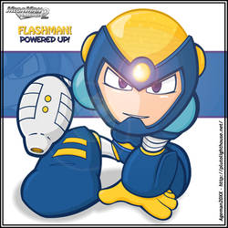 Flash Man Powered Up +