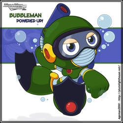 Bubble Man Powered Up +