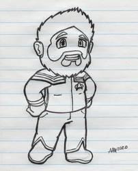 Starfleet Ender (Inked)