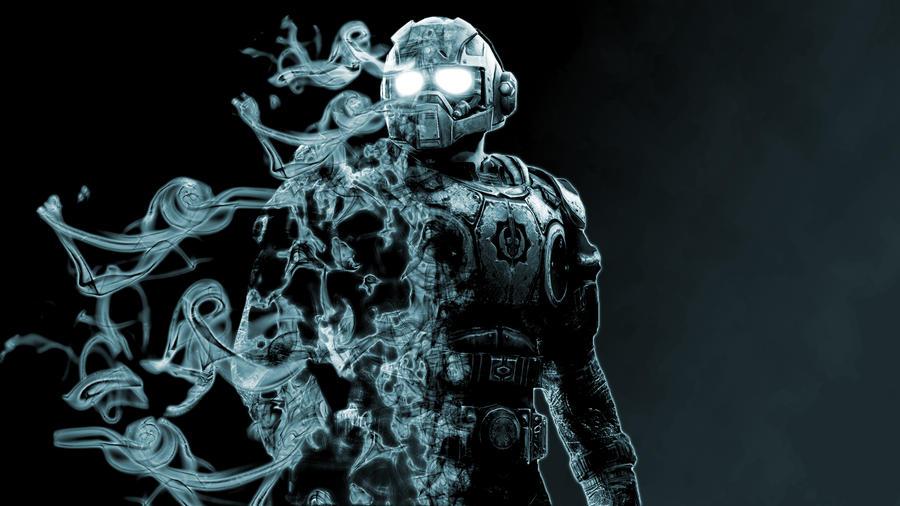 Anthony carmine smoke fade by lexaus2 on deviantart - Gears of war carmine wallpaper ...