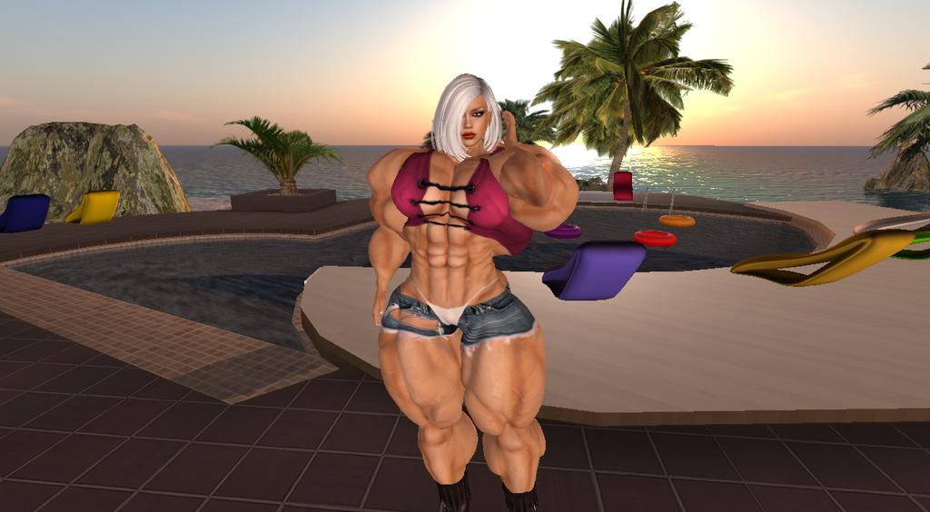 Muscular Svetlana by ericf989