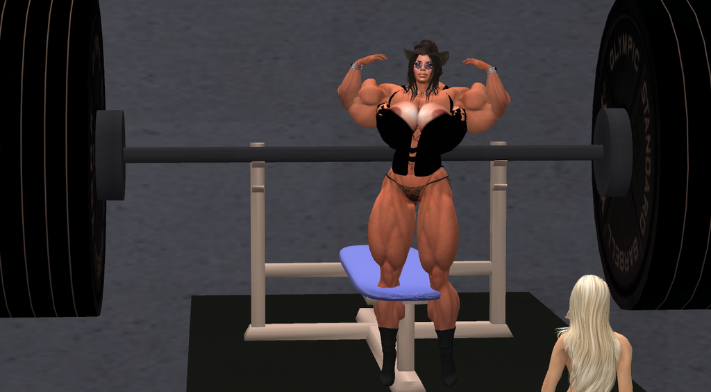 Vulnavia Front Double Bicep Pose by ericf989