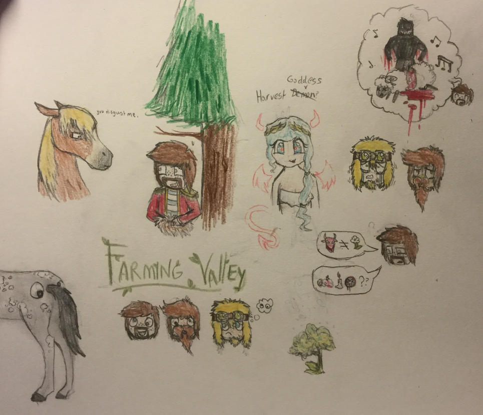 Yogscast- New series, New Doodle page! by Zombie-Chickenz