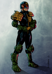 Judge Dredd Colour