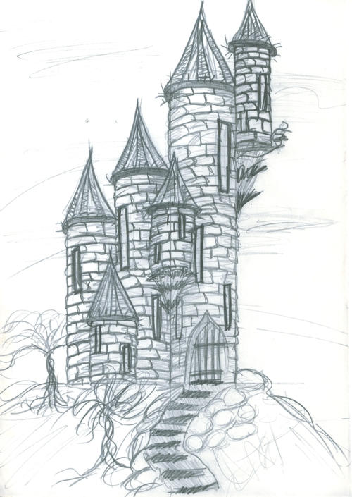 wizards tower by fire kat