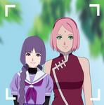Sakura and Sumire by JEJESZ777