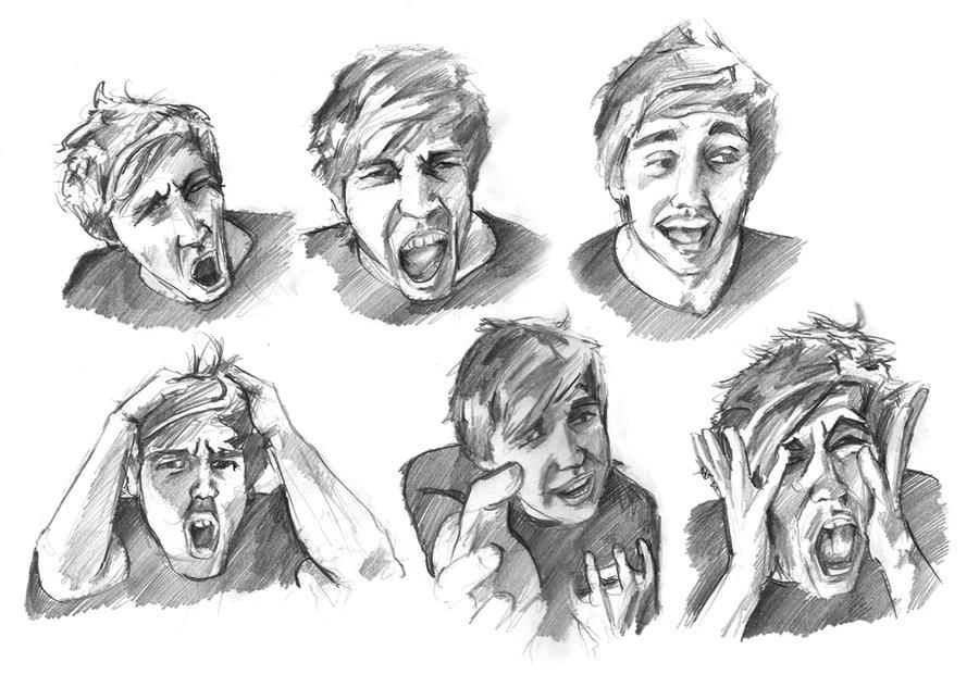 Art Facial Expressions 58