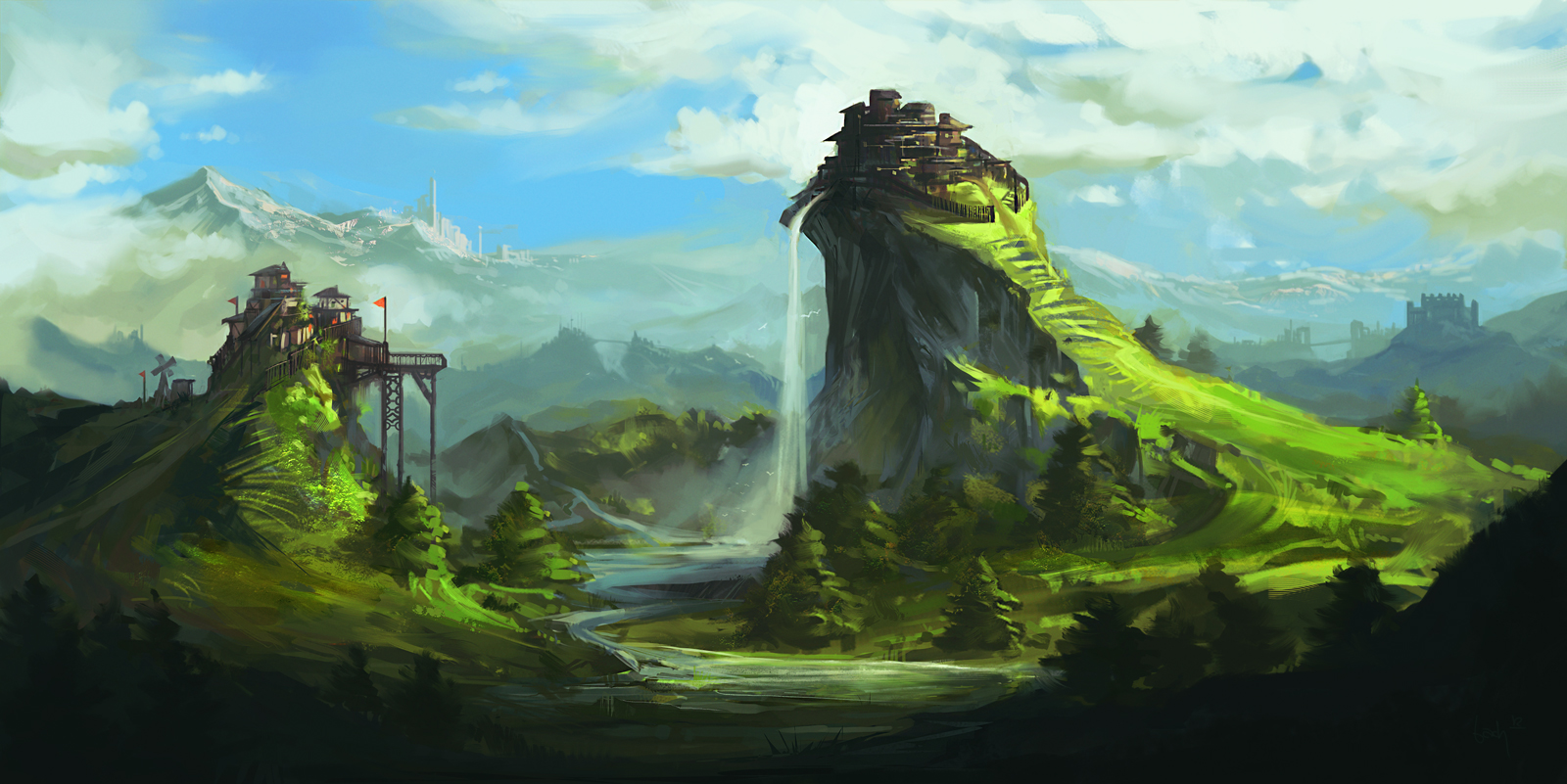 MMO background by bbach