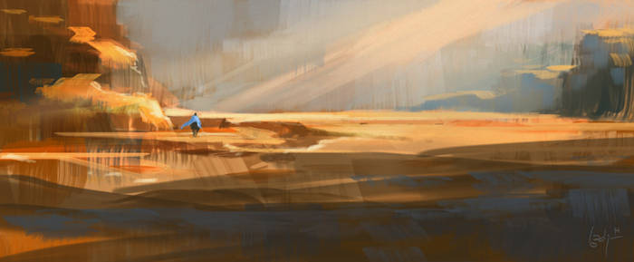 Glowy Desert quickie