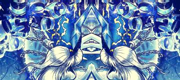 Blue God by Downzero
