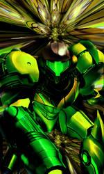 Green Samus by Downzero