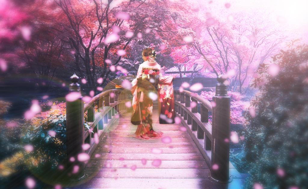 Sakura Garden Paradise By Aheroforjapan On Deviantart