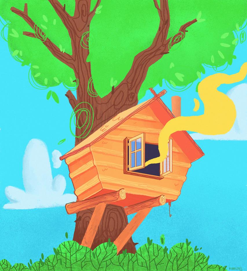 Tree House by kamzej