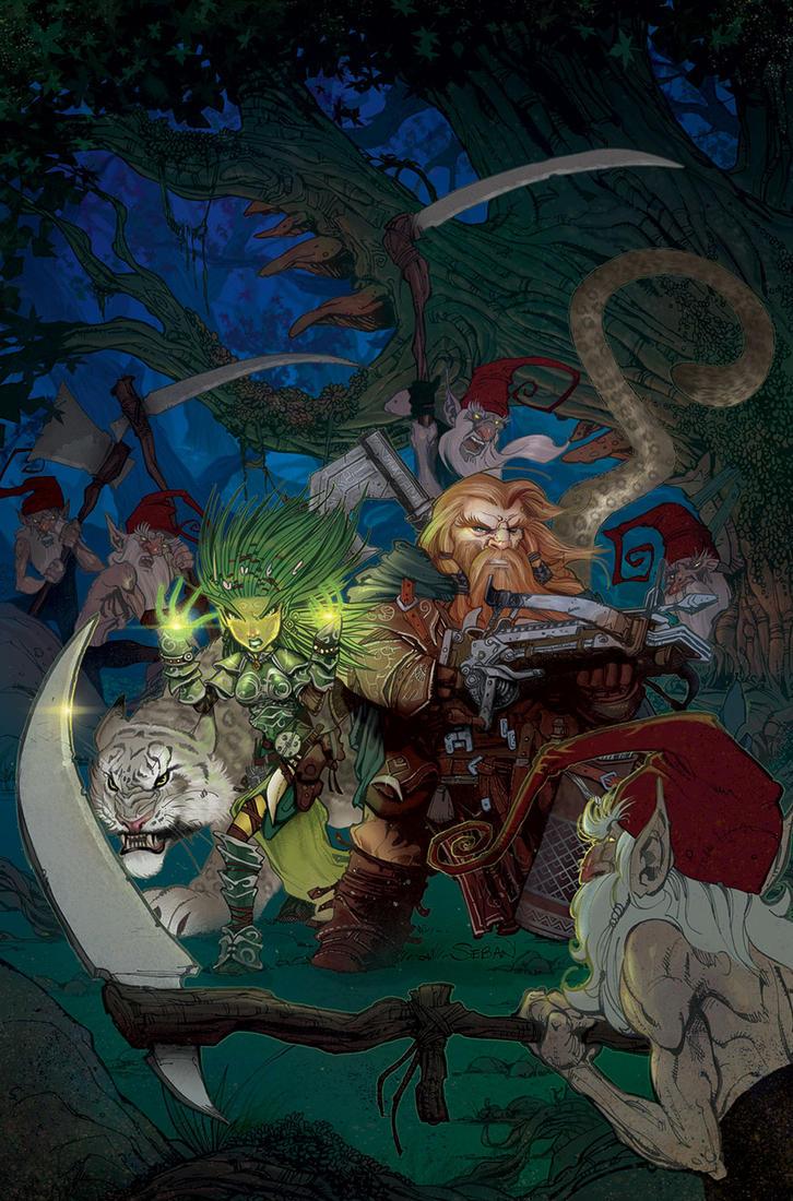 Pathfinder Origins #5 by seban001