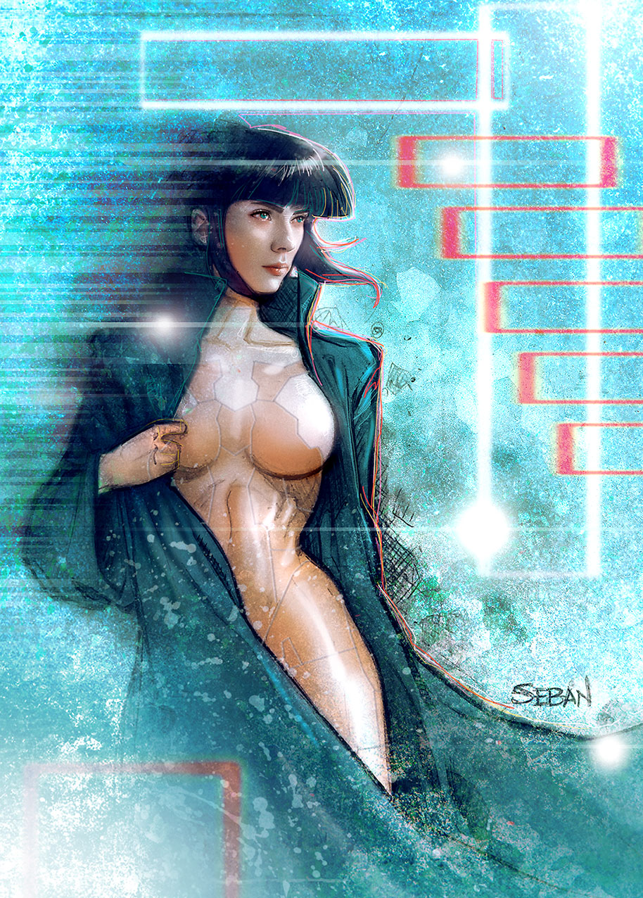 Ghost in the Shell by seban001