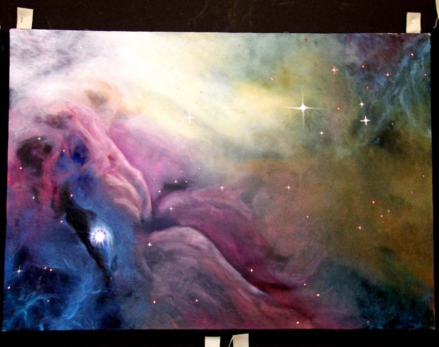 Orion Nebula by yandere-Yuno on DeviantArt