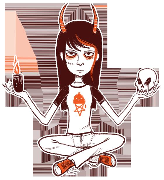 satan girl Gallery