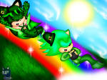 .:Rainbow of Green:. -Contest Entry-