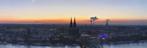 Panorama of Cologne by LinsenSchuss