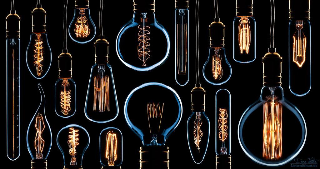 In memory of the light bulb