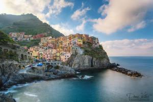The sleepy seaside village
