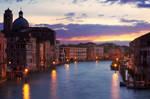 Sunset from Ponte degli Scalzi