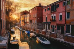 Golden Venice by LinsenSchuss