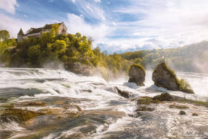 The Rhine Falls by LinsenSchuss